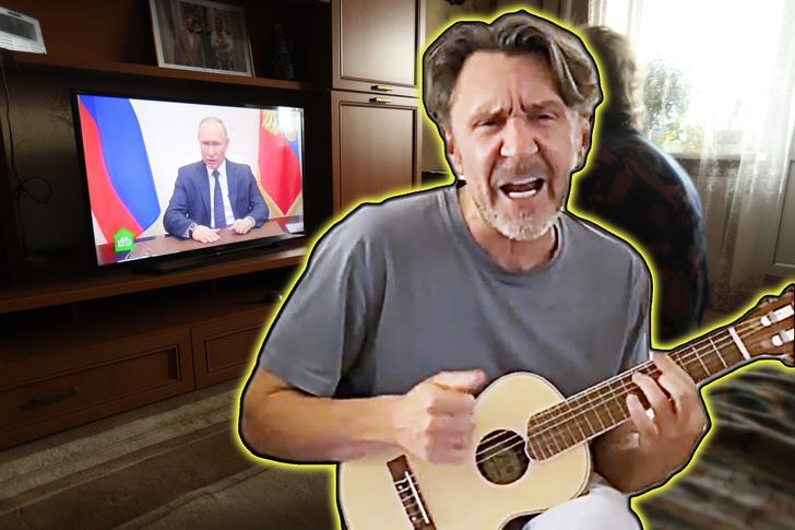 Фото №1 - «Настроение х@#вое испортил»: Шнур разразился матерной песней про обращение Путина