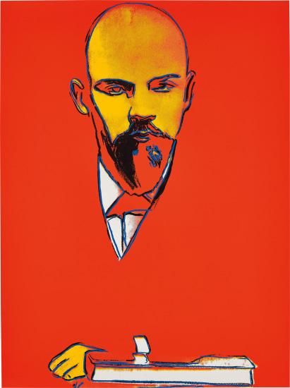 Фото №1 - Написанные Уорхолом портреты Ленина проданы на аукционе