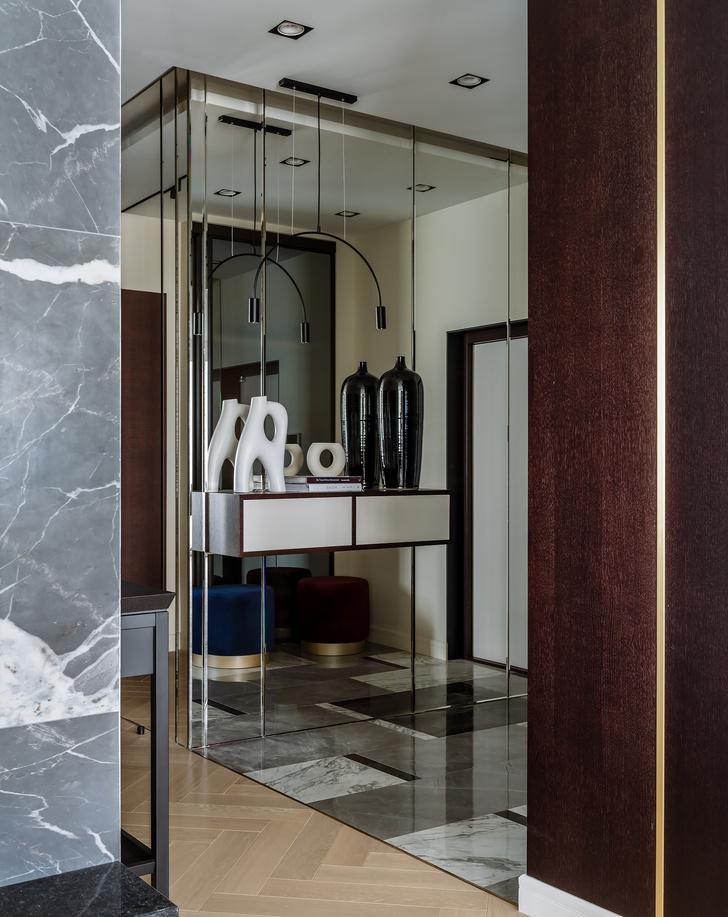 Фото №6 - Сила контраста: строгая мужская квартира 112 м²