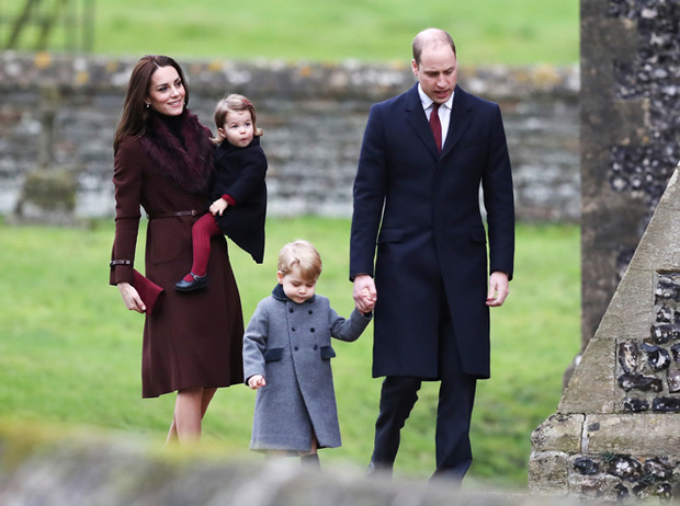 Фото №9 - 12 королевских традиций, которые нарушили Кейт Миддлтон и принц Уильям