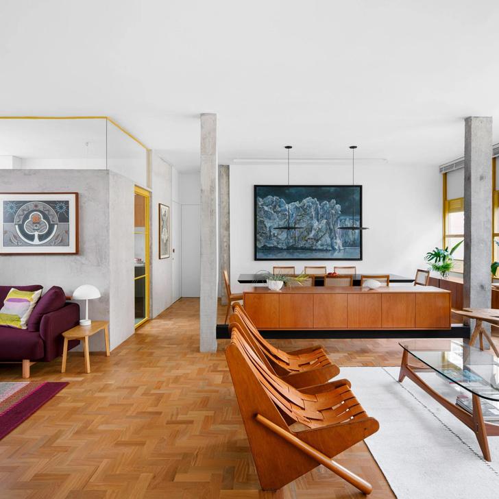 Фото №8 - Модернистская квартира в доме 1940-х в Бразилии