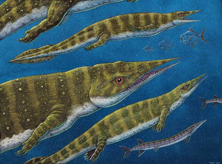 Фото №1 - На Аляске обнаружили останки предшественника динозавров