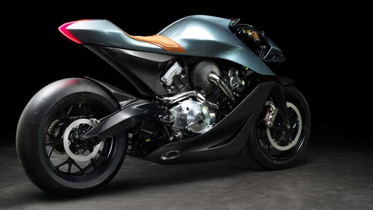 Фото №1 - Первый мотоцикл Aston Martin оценили в 108 тысяч евро (фото и видео)