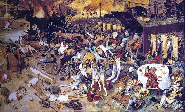Фото №2 - 670 лет назад... Европу охватила самая страшная в истории эпидемия чумы