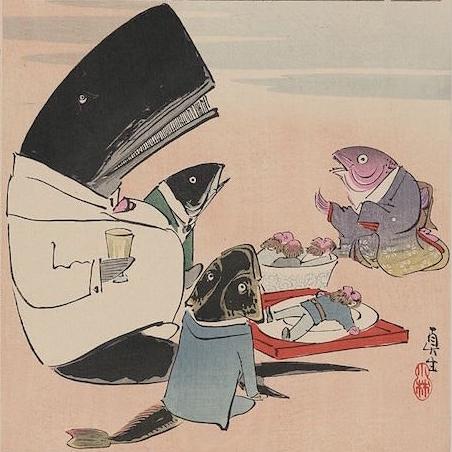 Фото №1 - 12 японских карикатур на русских времен русско-японской войны