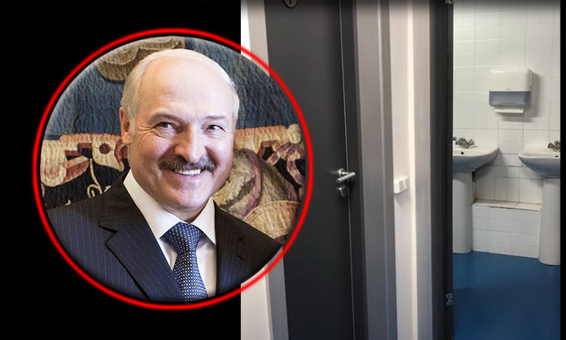 Фото №1 - Пародия на закрытую инаугурацию Александра Лукашенко от российского комика (видео)