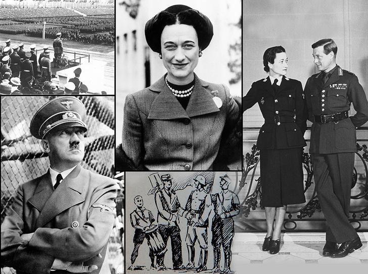 Фото №1 - История с отречением Эдуарда VIII: как Уоллис Симпсон стала проектом Гитлера