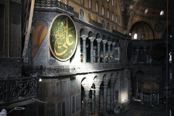Фото №6 - Собор, мечеть, музей: полторы тысячи лет истории Святой Софии Константинопольской в занимательных фактах