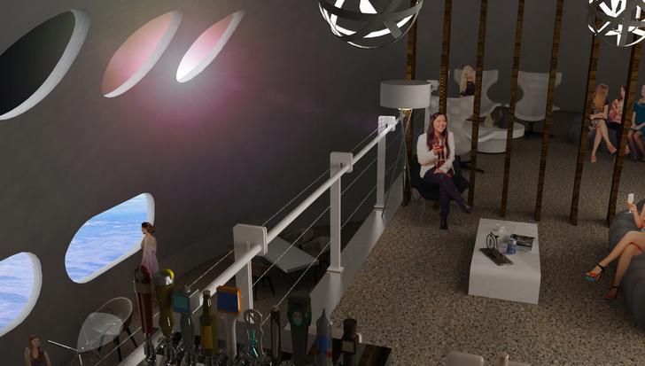 Фото №4 - Концепт: как будет выглядеть отель, расположенный в космосе