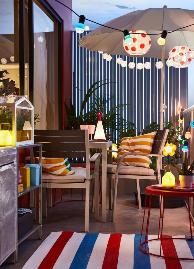 Фото №7 - Да будет цвет: 10 идей декорирования террасы