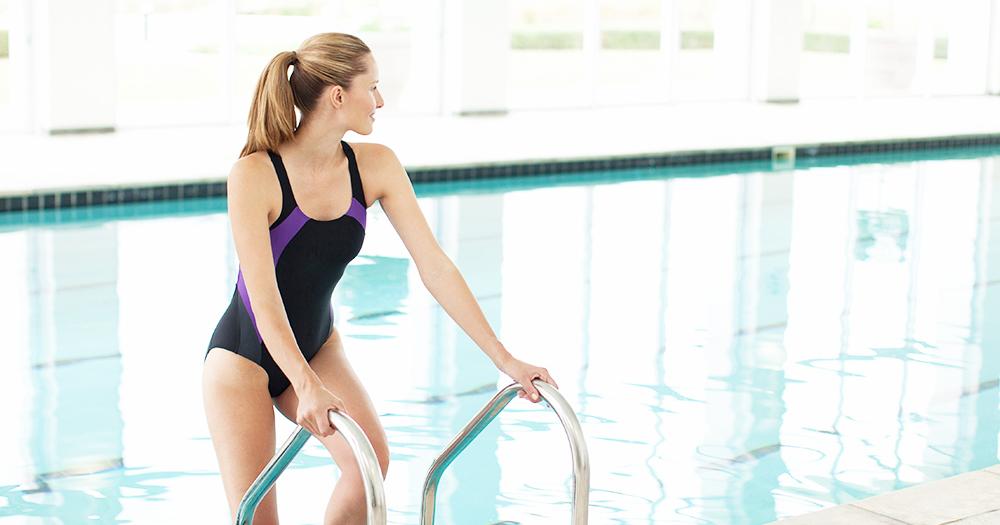 Тренировки в бассейне для мужчин