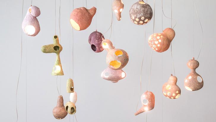 Фото №2 - You See a Sheep: коллекция керамических светильников от Юко Нисикавы