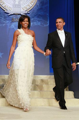 Фото №11 - От супруги президента к модной иконе: эволюция стиля Мишель Обамы