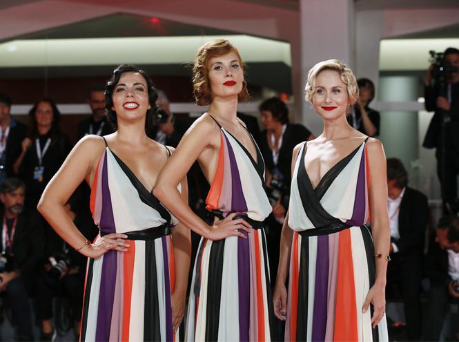 Фото №2 - Модная Венеция-2018: лучшие образы восьмого дня кинофестиваля