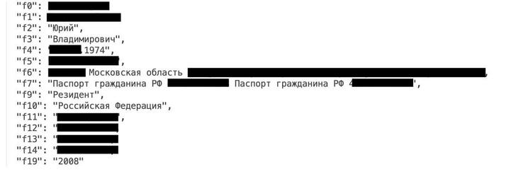 Фото №1 - В Интернете нашли базу данных с личной информацией 20 млн россиян