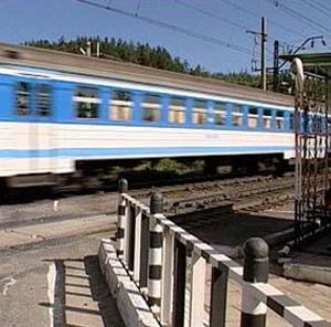 Фото №1 - В Воронеже пассажирский поезд столкнулся с грузовым