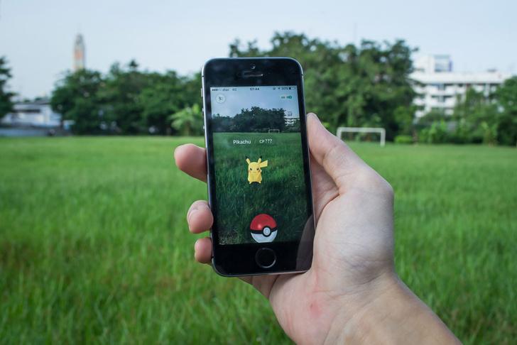 Фото №1 - Медики сочли полезной игру Pokemon GO