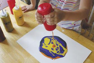 Фото №4 - Рисование с помощью соли: пышная краска и соленая акварель