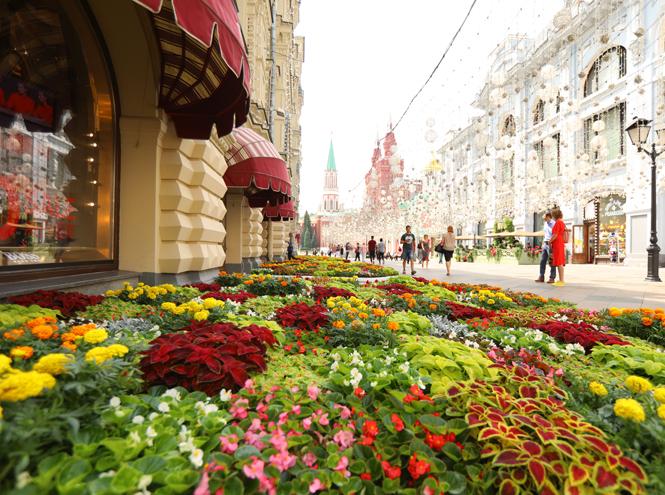 Фото №2 - Настроение лета: открылся традиционный фестиваль цветов в ГУМе