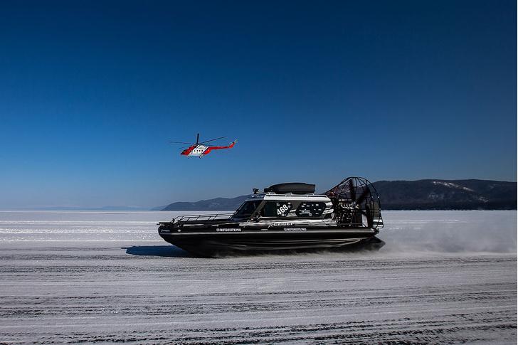 Фото №14 - По толстому льду: как прошли «Байкальская миля» и «Дни скорости на льду Байкала»