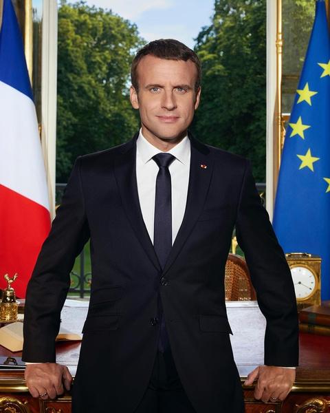 Эмманюэль Макрон, президент Франции