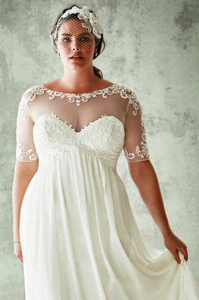 25f9badc47e5727 5 правил выбора свадебного платья для полных девушек — www.wday.ru