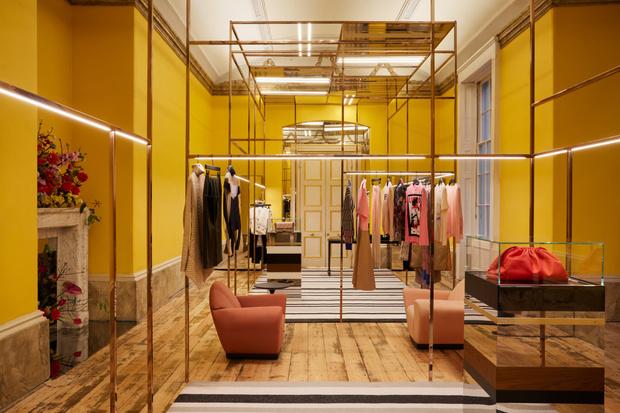 Фото №4 - Новый бутик в Лондоне по дизайну Dimorestudio