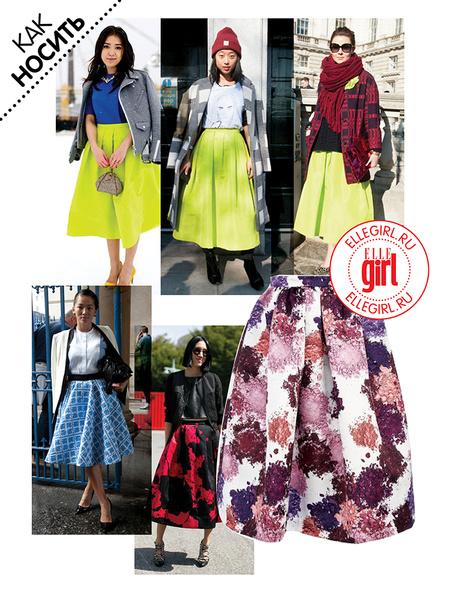 Фото №1 - Street style: С чем носить юбку миди