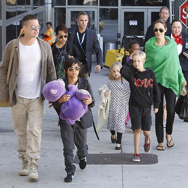 Фото №4 - 10 доказательств, что семья Джоли и Питта далека от идеала
