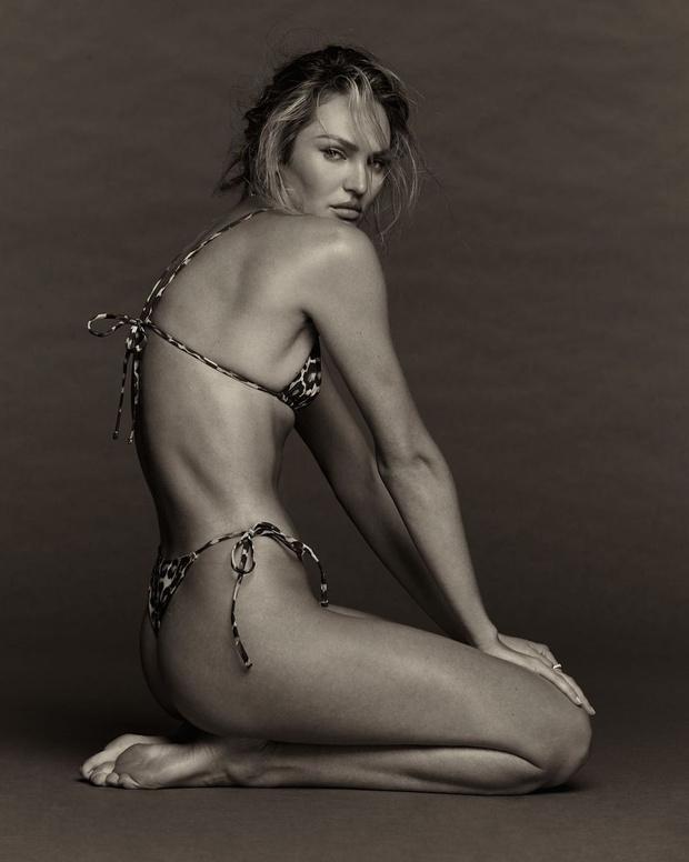 Фото №2 - Леопардовое бикини + джинсы: новые соблазнительные фото Кэндис Свейнпол