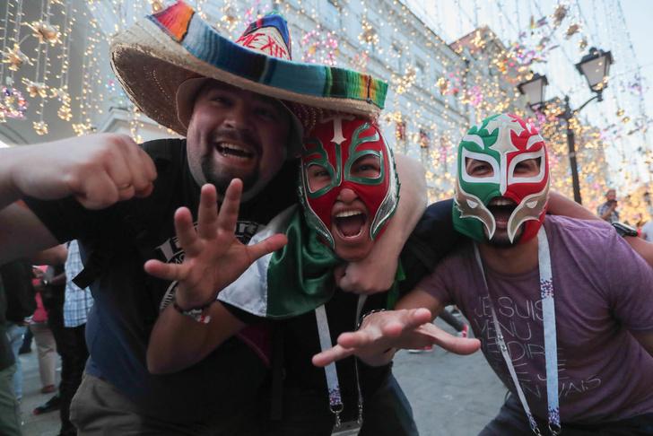 Фото №1 - Футбольные фанаты спровоцировали «землетрясение» в Мексике