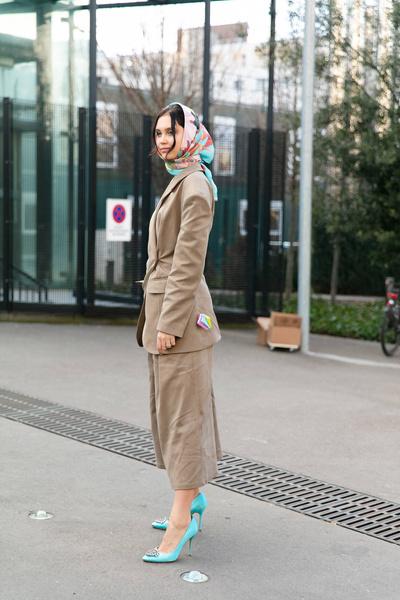 Street Style: PFW осень-зима 2019/20