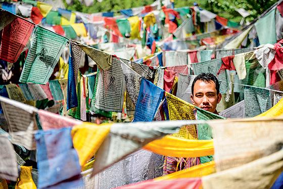 Фото №1 - Свобода под надзором: репортаж из Бутана