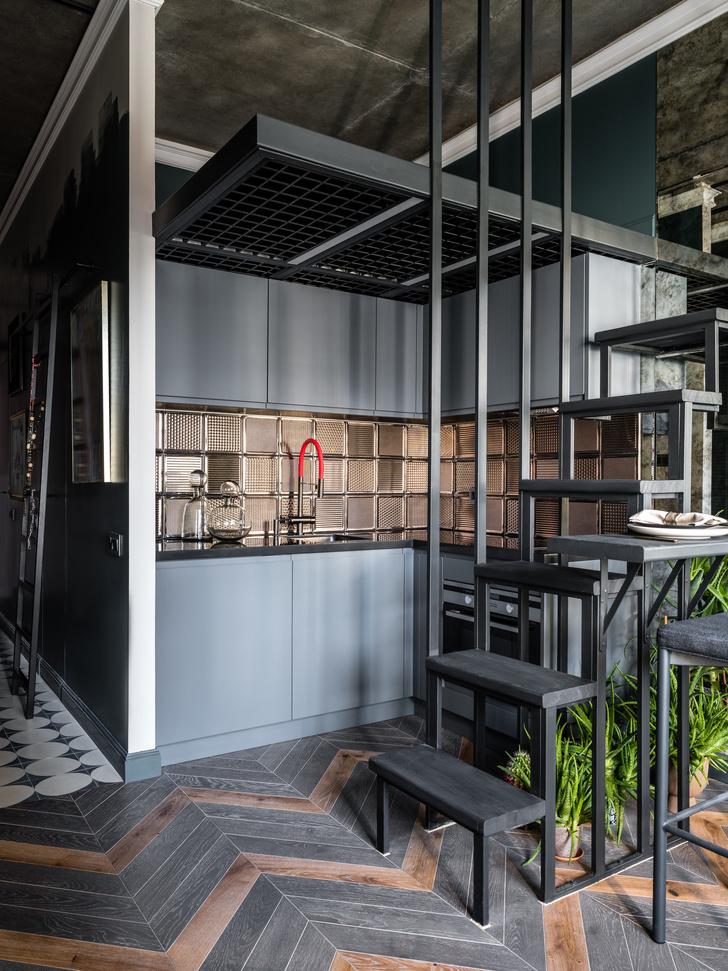 Фото №4 - Идеи для маленьких кухонь: изучаем проекты дизайнеров
