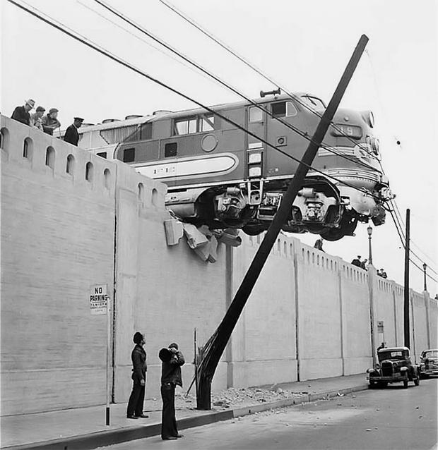 Фото №1 - История одной фотографии: авария поезда «Эль-Капитан»