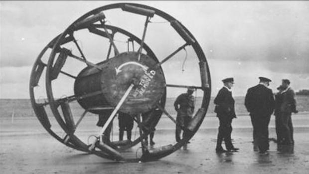Фото №1 - «Великий Панджандрум»: странное оружие Второй мировой, которое так и не было использовано (видео)