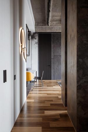 Фото №11 - Квартира 136 м² с бетонным потолком в Москве