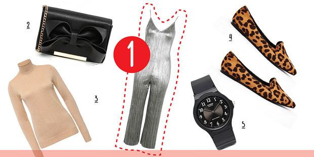 Фото №3 - С чем носить серебристый комбинезон