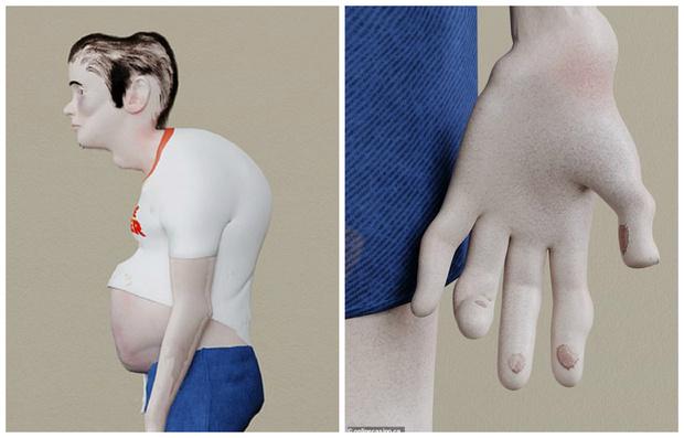 Фото №1 - Как будет выглядеть геймер после 20 лет видеоигр: исследовательская модель