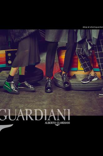 Фото №9 - Вечерний выход: новая рекламная кампания Alberto Guardiani осень-зима 16/17
