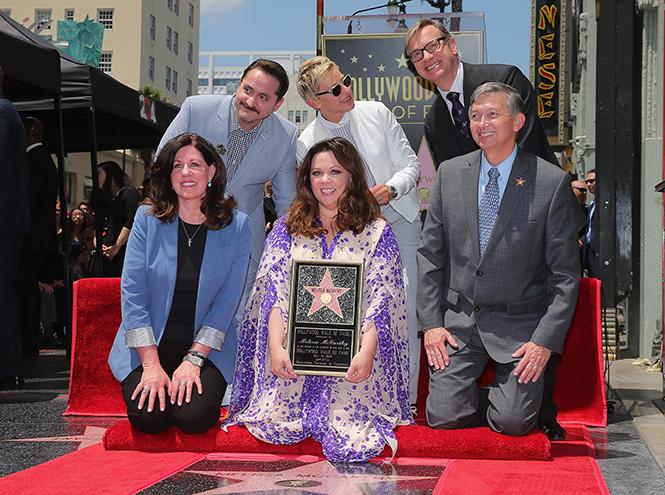 Фото №3 - Мелисса МакКарти удостоена звезды на Аллее cлавы
