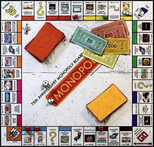 Фото №1 - Игра «Монополия»