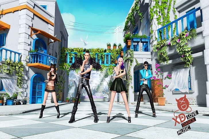 Фото №2 - В России выйдет танцевальный симулятор жизни XD: Love Dance Music
