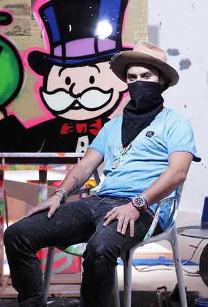 Фото №5 - Граффити-художник Алекс Монополи: «Иногда я получаю сумасшедшие заказы»