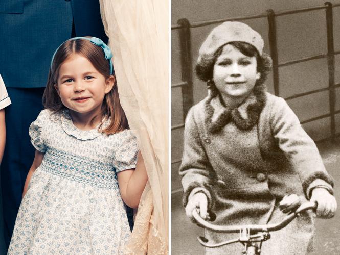 Фото №4 - Глаза Дианы, улыбка Елизаветы: с кем теперь сравнивают принцессу Шарлотту
