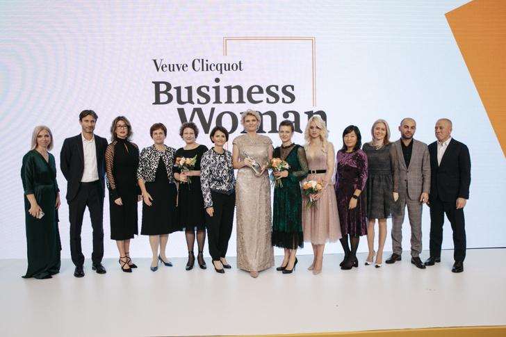 Фото №2 - В Москве прошла премия для женщин-предпринимательниц Veuve Clicquot Business Woman Award