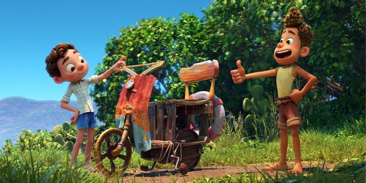 Фото №7 - 10 невероятно прекрасных и трогательных сцен из мультфильма «Лука» от Pixar 🌊