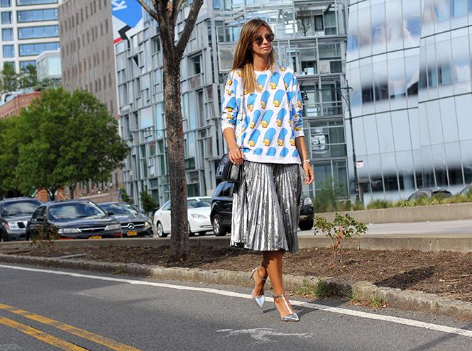 Фото №10 - Образы гостей недели моды в Нью-Йорке в прошедшие выходные