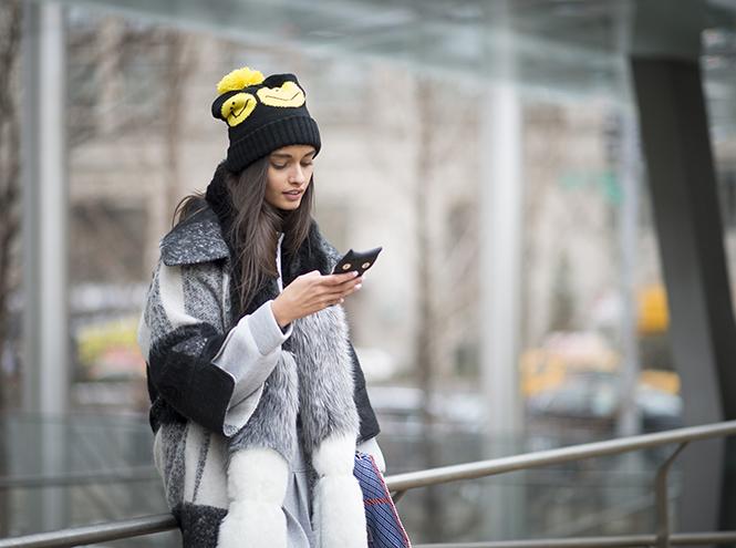 неделя моды в нью-йорке уличная мода street style