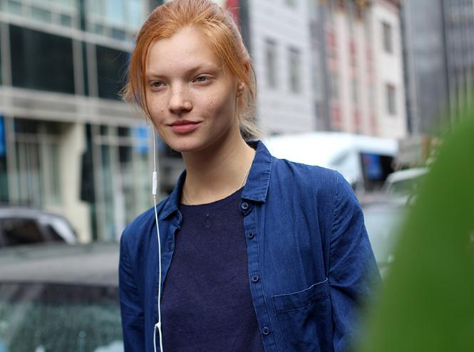 Фото №9 - Street style первого дня недели моды в Нью-Йорке